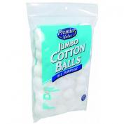 Premier Value Cotton Balls 100% Triple Size - 100 ct