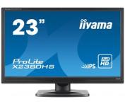 IIYAMA X2380HS-B1 - 23Wide Screen TFT-LCD : LED Backlight : Black Case : Full HD Panel : IPS (Manufacturer's SKU:X2380HS-B1)'