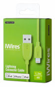 iWires USB 2.0 Plug to Lightning Plug - Green