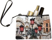 Rikki KnightTM St Mark's Square In Venice, Italy Design Keys Coins Cards Cosmetic Mini Clutch Wristlet
