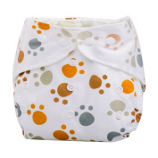 DZT1968(TM) 1pc Baby Cloth Nappy Cover Adjustable Reusable Washable Nappy