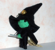 Wicked Witch Wizard String Doll Voodoo Keychain Keyring