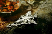 Niceroker Fashion the Lord of the Rings Elf Princess Evening Star Silver Necklace