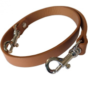 The on the Go Collection - 1.6cm Wide British Tan/camel Shoulder Length Replacement Purse Strap