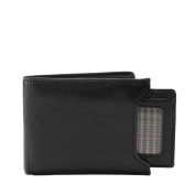 Fossil Ingram Sliding 2 in 1 Men's Wallet Black Ml3288001
