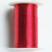 Red Beading Wire 28 gauge 40 yard spool