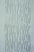 Xiem Rubber Art Roller, 5.1cm x 18cm , Crackle