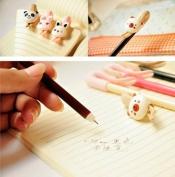 vanki 2pcs Korean Style Cute Animal Gel Pen 0.38mm
