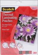 Scotch Thermal Laminator Pouches - 23cm x 29cm 1 pcs sku# 1211039MA