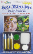 Halloween 5-Colour Face Painting Kits - Fun Safe Water Soluble Make-Up For Skin And Hair