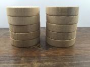 ImpressionU Natural Unfinished Wood Blocks - Mount & Handle For DIY Rubber Stamps