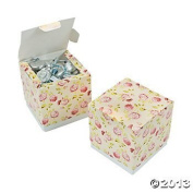 12 Special Occasion Paper Vintage Collection Favour Boxes