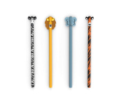 Kikkerland Safari Pencils Set Of 4