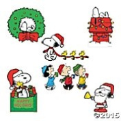 Peanuts Christmas Cut Outs Large Wall Decorations