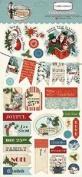 Carta Bella Paper Company Christmas Wonderland Chipboard, 15cm x 33cm