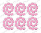 Spiral Rose Set Steel Die for Scrapbooking