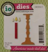 Ornate Candlestick Steel Die for Scrapbooking