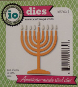 Menorah Steel Die for Scrapbooking