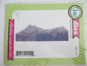 Impression Obsession Mountain Landscape Layers Craft Die