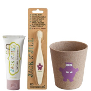 Jack N' Jill- Bio Toothbrush Rinse Cup and Toothpaste Set