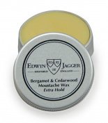 Edwin Jagger 15ml Pot Moustache Wax - Bergamot & Cedarwood