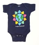 Peeps Navy Blue Infant Onsie - 18MO
