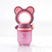Gemini Fairy Bestborn Series Baby Teethers Fresh Food Feeder with Lovely Bear Design