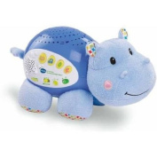 Baby Line Lil' Critters Soothing Starlight Hippo, Plays 100+ Soothing Songs, Melodies, Sounds and Phrases