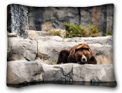 Custom Animal Custom Zippered Pillow Case 50cm x 70cm (one sides) from Surprise you suitable for Queen-bed