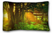 Custom Characteristic Nature Rectangle Pillowcase 50cm x 80cm (one side) suitable for Twin-bed