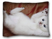 Custom Animal Zippered Body Pillow Case Cover Size 50cm x 70cm suitable for Queen-bed