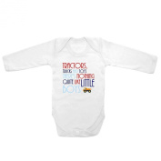 Long Sleeve Baby Tee Time Baby Boys' Tractors, Trucks And Toys One piece
