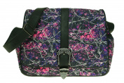 Monte Vista Muddy Girl Print Cross Body Messenger Quilted Nappy Bag