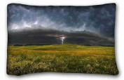 Custom Nature Standard Size Pillowcase for Hair & Facial Beauty Size 50cm x 80cm suitable for California King-bed