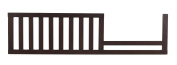 Westwood Design Jonesport Toddler Guard Rail, Chocolate Mist