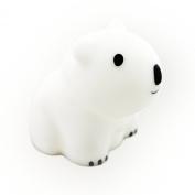 "PAUL ""Brilliant LED"" Polar Bear Night Light (Shake Sensor) by Lumitusi"