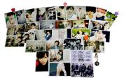 Fanstown BTS bangtan boys postcard with lomo cards