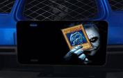 Joke Blue Eyes Dragon Aluminium Licence Plate for Car Truck Vehicles