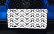 Cute Doggy Pattern Aluminium Licence Plate for Car Truck Vehicles