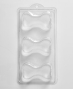 World of Moulds 3 Cavity Dog Bone Soap/bath Bomb Mould A07