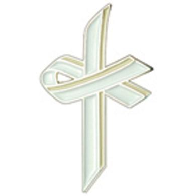 White Awareness Cross