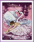 Happy Forever Cross Stitch,figure , The swan dance