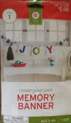 Create-Your-Own Memory Banner Kit