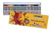 Sakura XEP25 25-Piece Cray-Pas Junior Artist Assorted Colour Oil Pastel Set