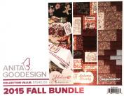 Anita Goodesign Embroidery Designs 2015 Fall Bundle - Holiday Extravaganza, Autumn Bounty, Bargellissimo