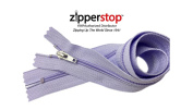 Zipperstop Wholesale YKK® 46cm 3pcs package Hottest Colours YKK® #4.5 Handbag Zippers - Silver Pull Closed Bottom Made in USA