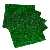 Expressions Vinyl - Grass - 23cm x 30cm 5-pack Siser Glitter Iron-on Heat Transfer Vinyl Sheets