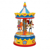"Musical Box ""Merry-go-round Horses"""
