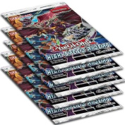 YuGiOh High-Speed Riders Lot of 5 Booster Packs [Sealed]