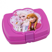 Disney Frozen Girls Lunch Storage Fresh Sandwich Container Box